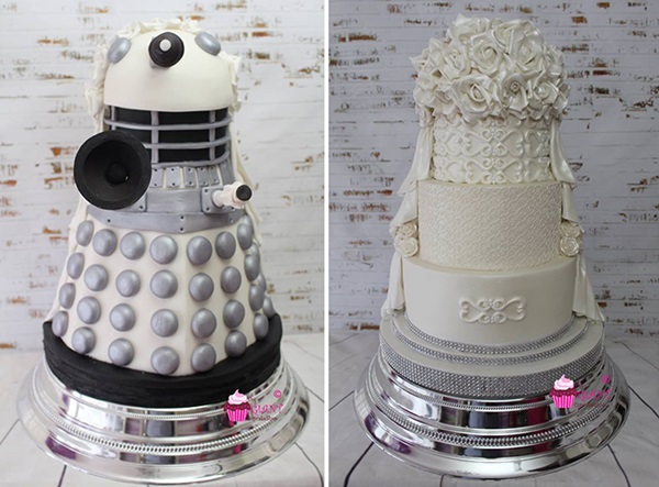 Star Wars Wedding Cake by Giant Cupcake