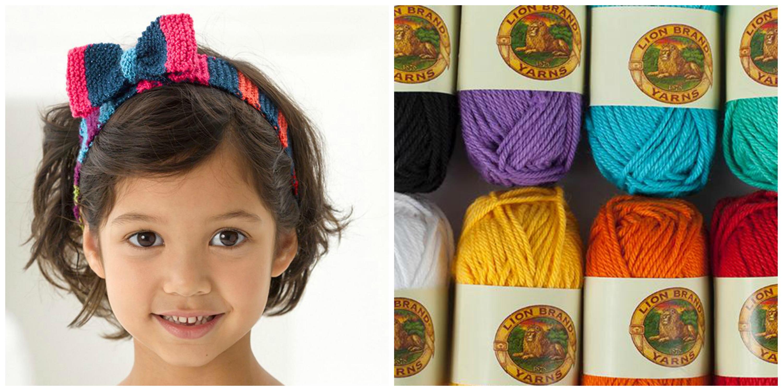 Knit Headband Kit - Available on Bluprint.com