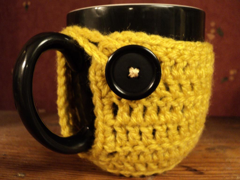 mug hugger crochet pattern