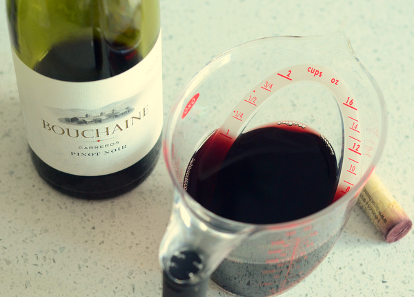 Pinot Noir for Red Wine Cake