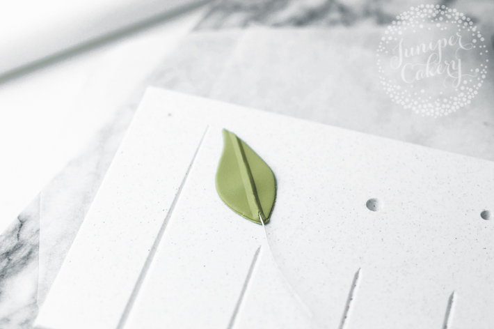 Easy Eucalyptus leaf tutorial
