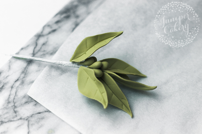 How to make easy seeded Eucalyptus leaves as filler foliage