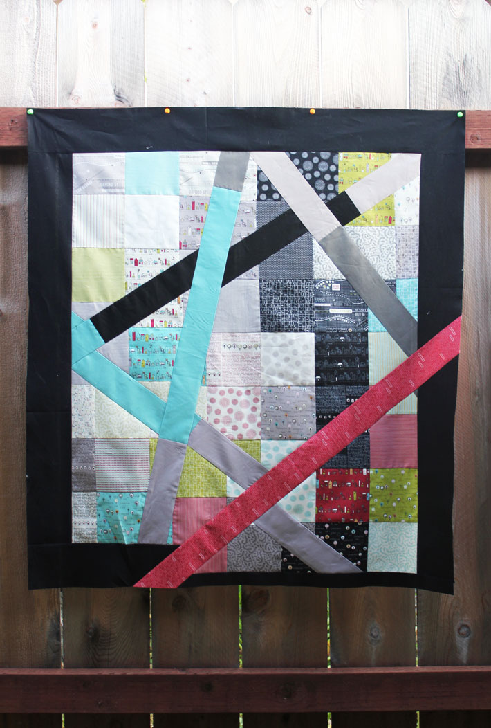 slashed charm pack quilt tutorial