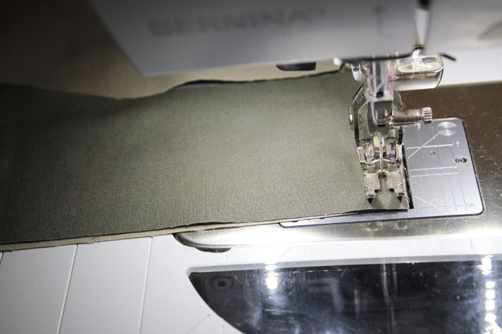 stitch strips together