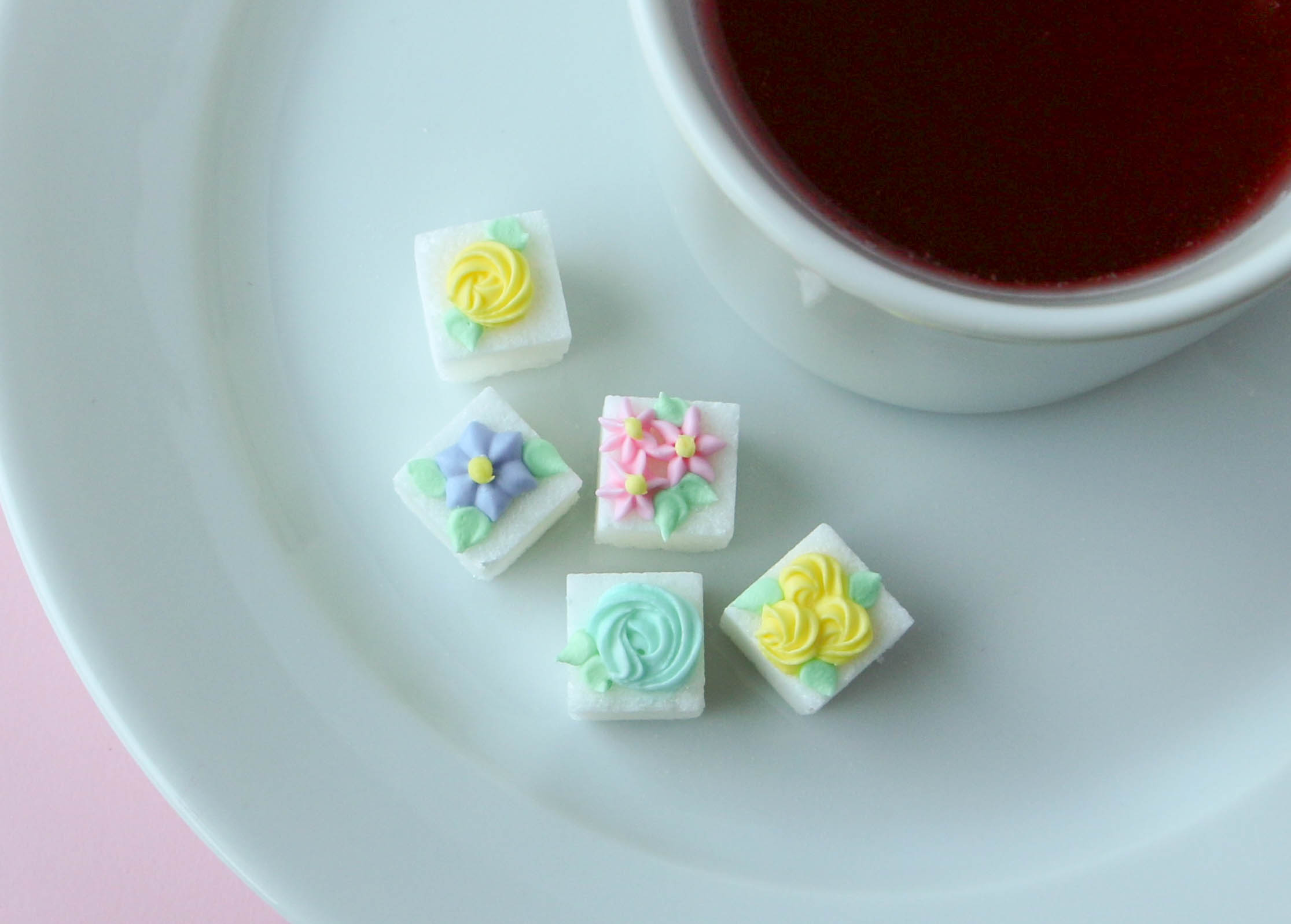 Sugar Cubes Decorated With Royal Icing | Erin Gardner