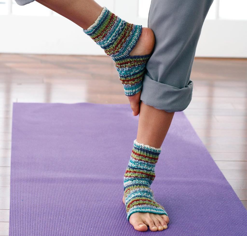 Yoga Socks Kit for Knitting