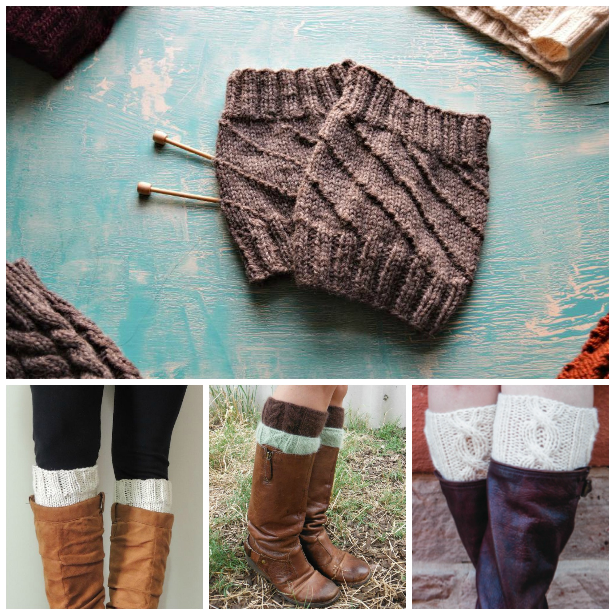 Boot Cuff Collage