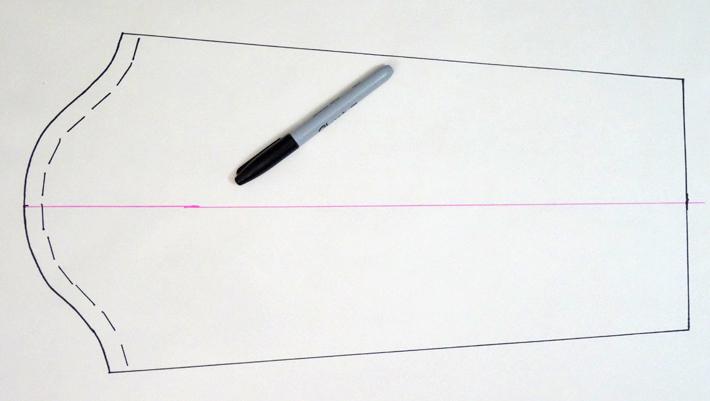 Draw sleeve side seamlines