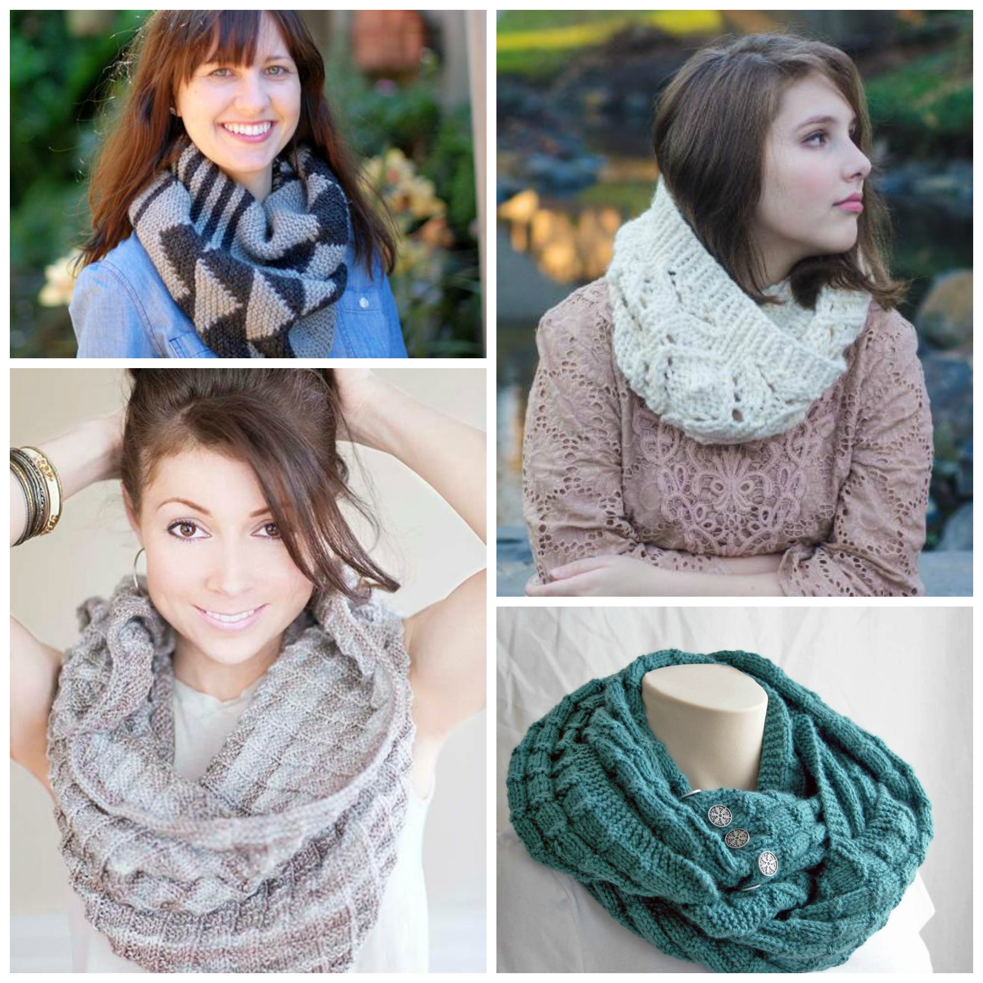 Infinity Scarf Collage