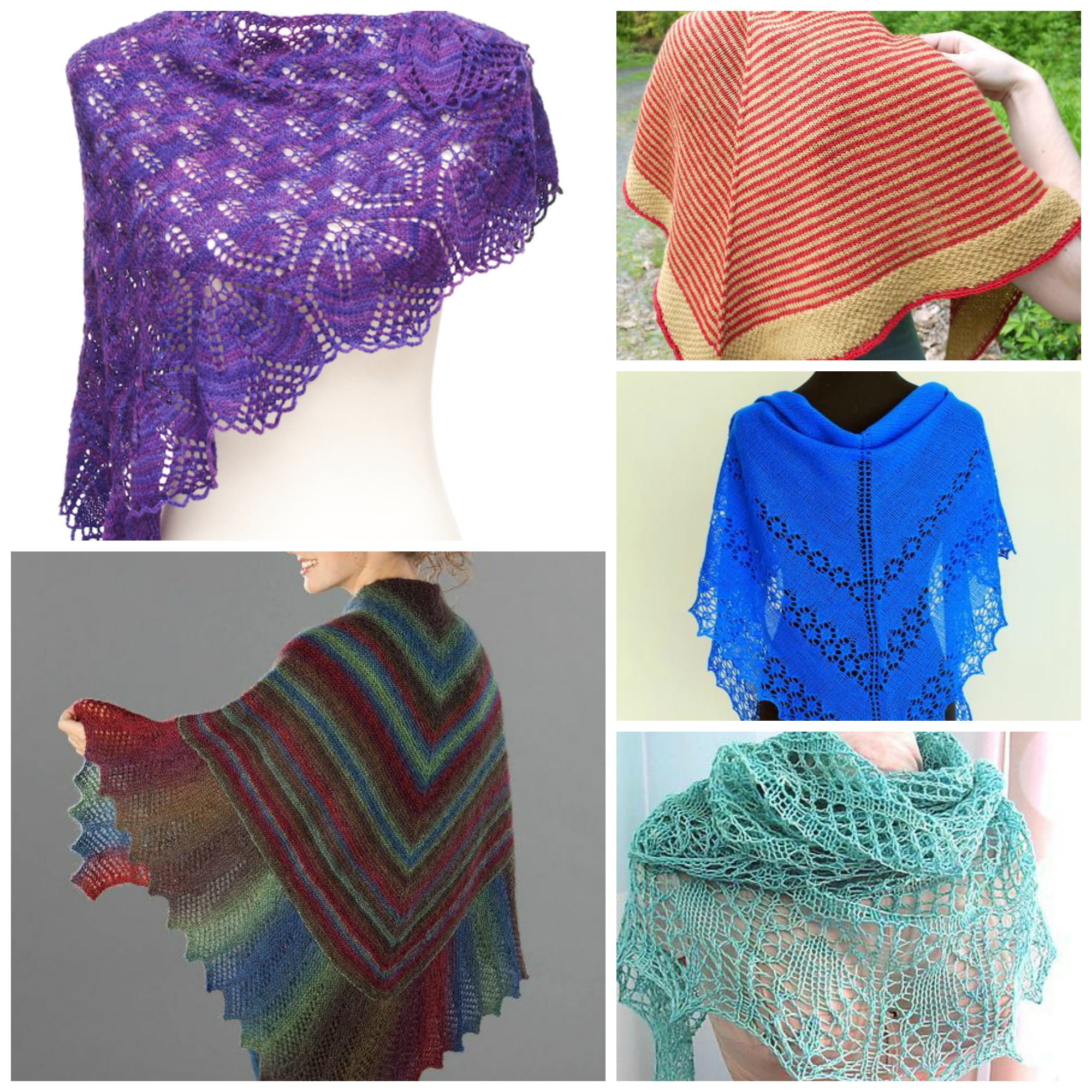 What to Knit: Shawls