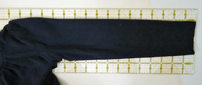 Measure the sleeve length