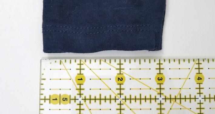 Measure the sleeve opening width