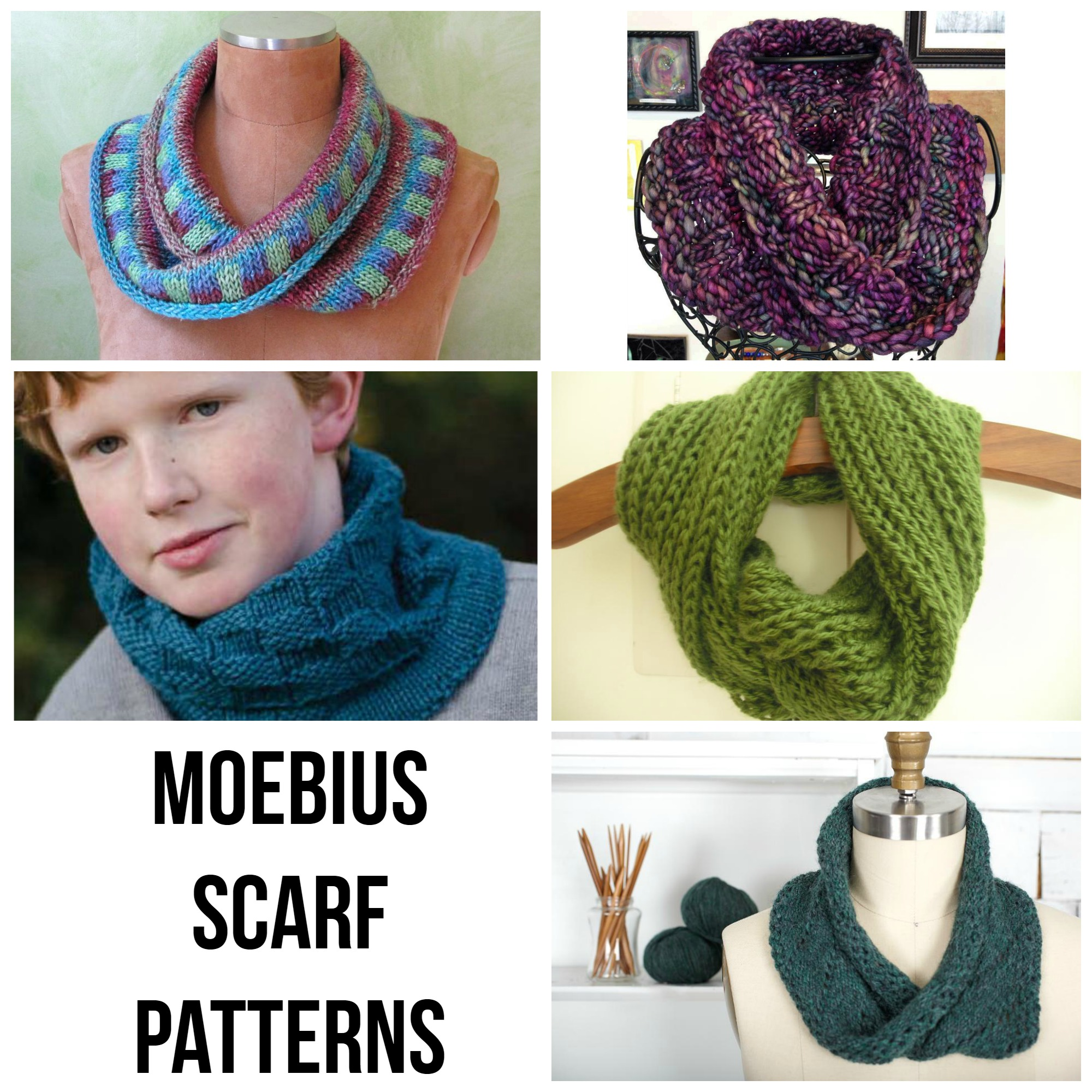 Moebius Scarf Patterns