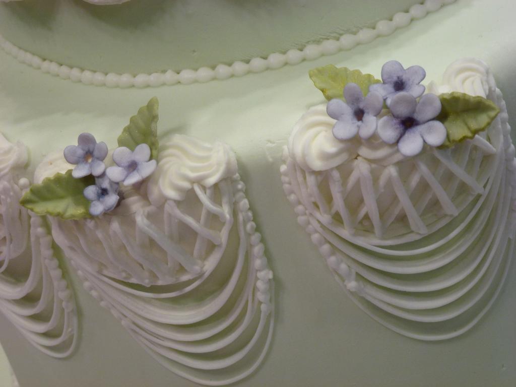 Pastillage baskets