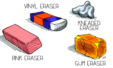 Types of Erasers