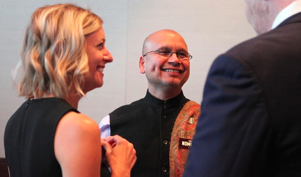 Chef Raghavan Iyer at the 2016 James Beard Awards