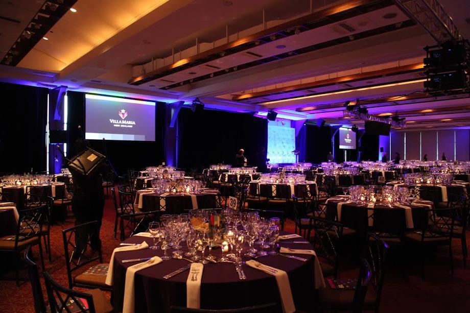 Ballroom where the James Beard Awards were held
