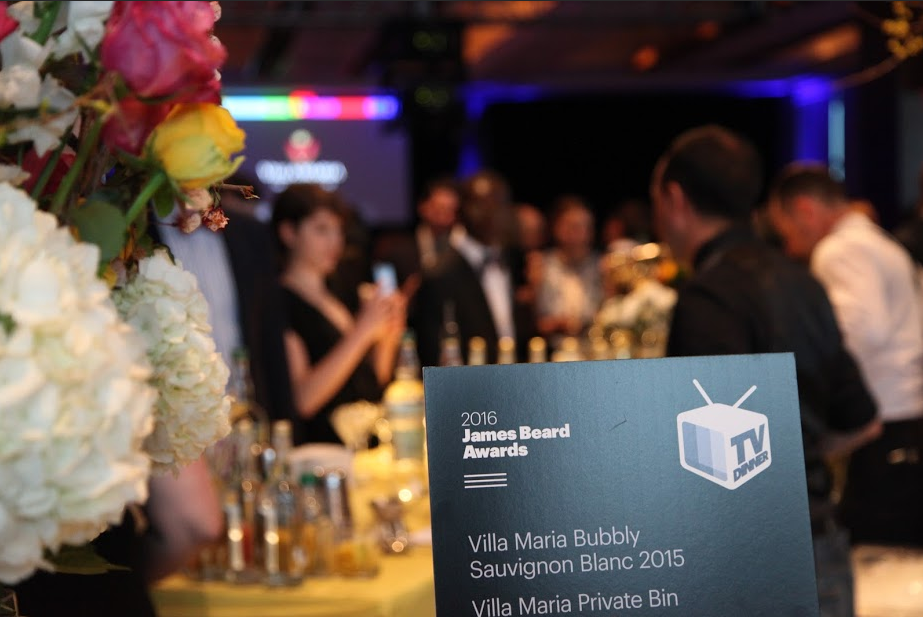 Cocktail Sign at 2016 James Beard Awards
