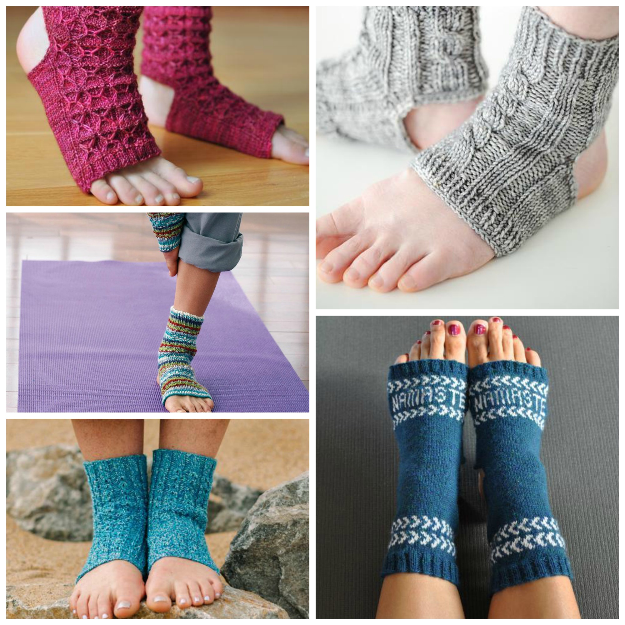 Yoga Socks Knitting Patterns