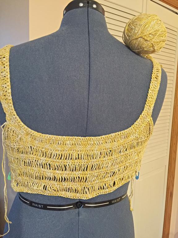 cardi wip crochet
