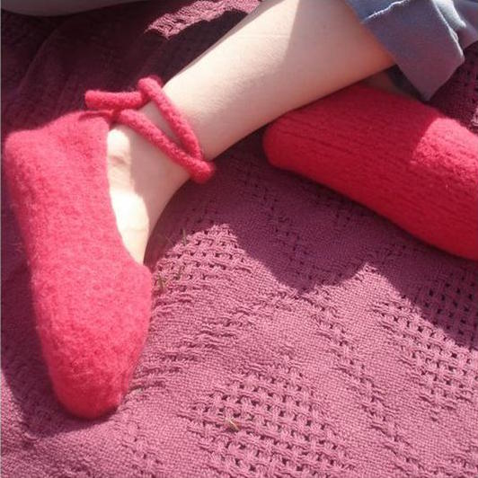 FREE Felted Slipper Pattern