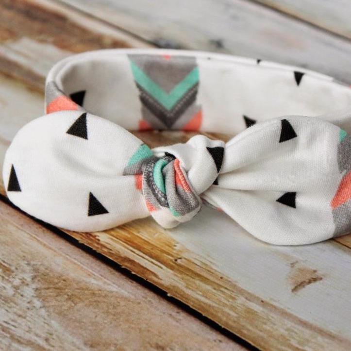 Knot Bow Headband pattern