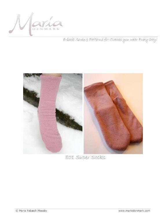 Super Socks Sewing Pattern