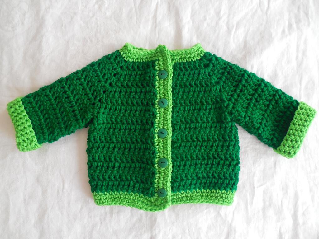 Two Tone Sweater FREE Crochet Pattern