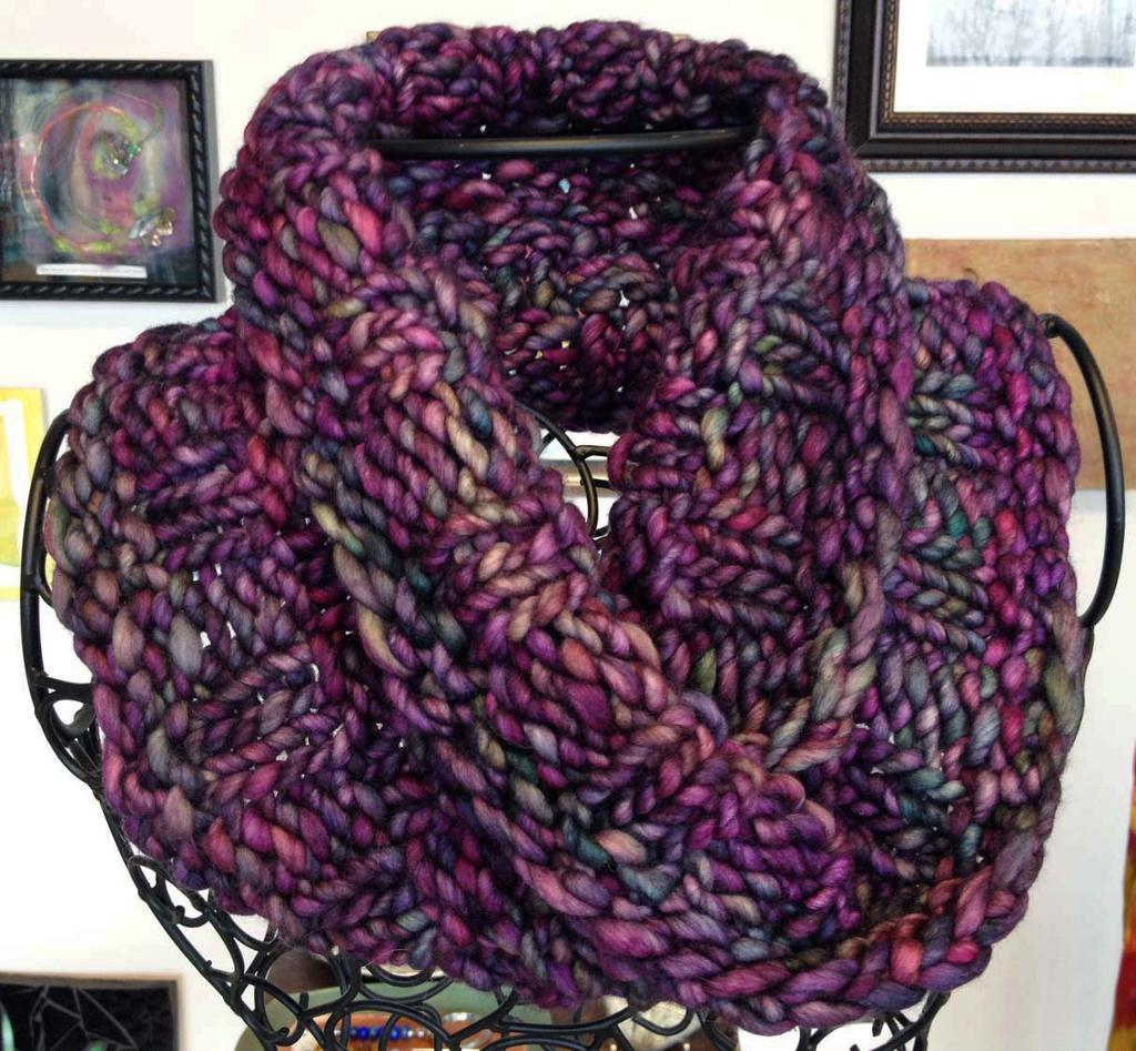 Rasta Holiday FREE Cowl Knitting Pattern