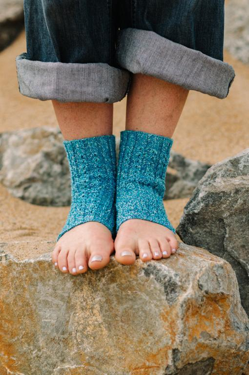 Maharani Yoga Sock Knitting Pattern