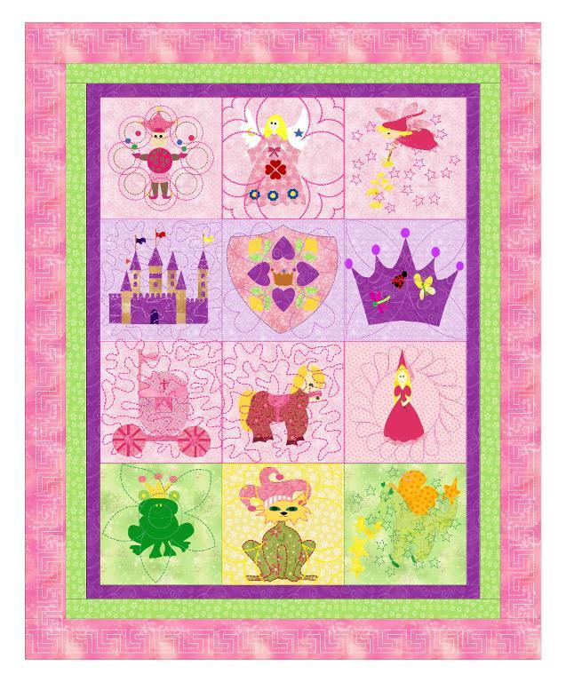 Baby Quilt A Girls Imagination