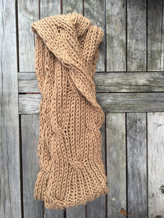 Infinite Wave Cowl Knitting Pattern