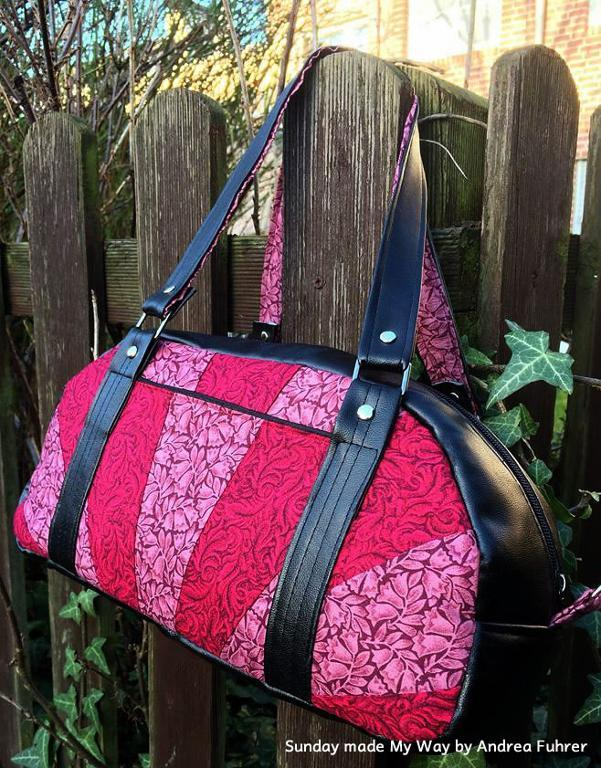 "Sunday ""My Way"" Bag FREE Sewing Pattern"