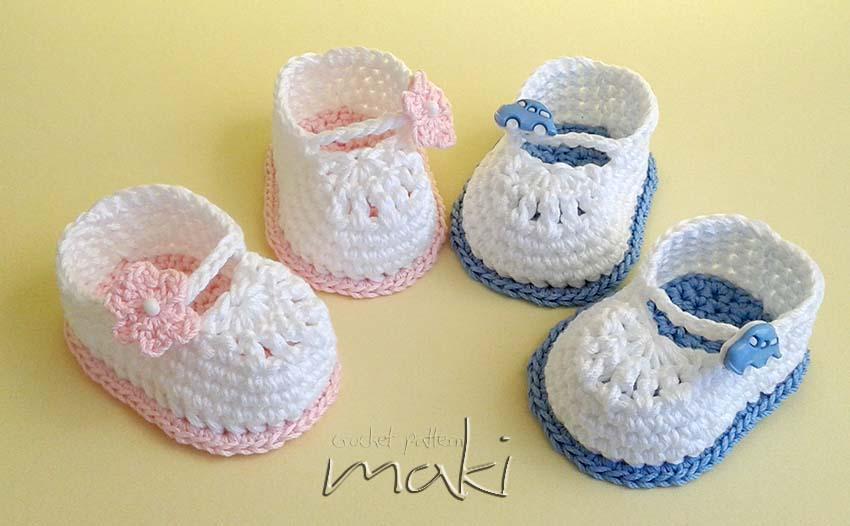 Mini Booties FREE Crochet Pattern