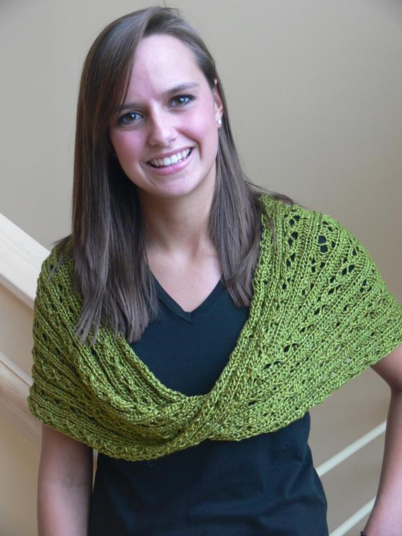 Soft Cables Moebius Infinity Scarf and Wrap