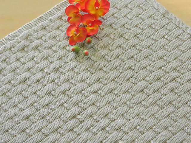 Linus Blanket FREE Knitting Pattern