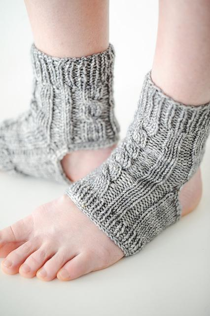 Paradox Yoga Socks Knitting Pattern