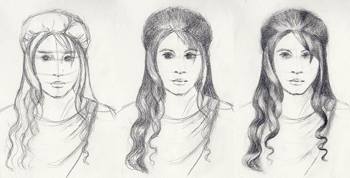 hairstyles, boho gothic style craftsy