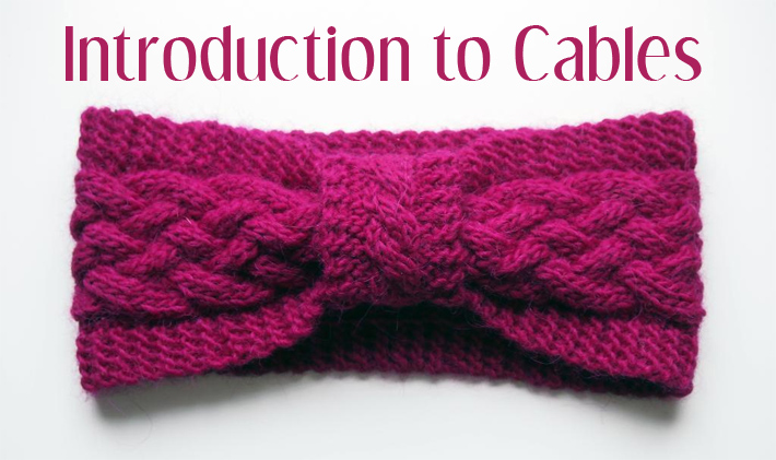 Introduction to Cable Knitting