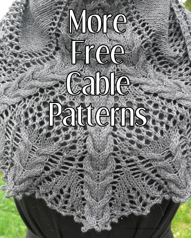 More free cable knitting patterns