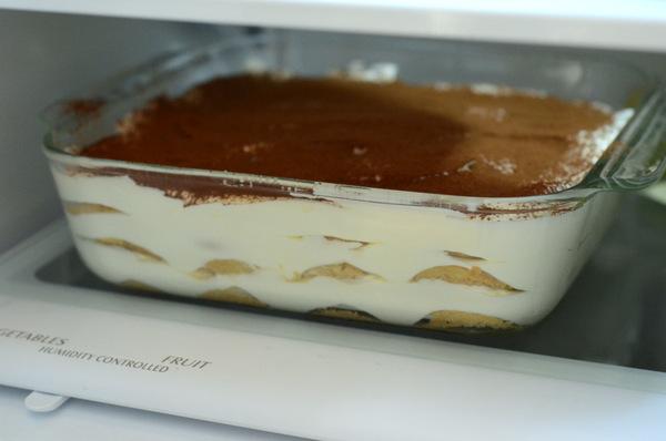 Refrigerating Tiramsu