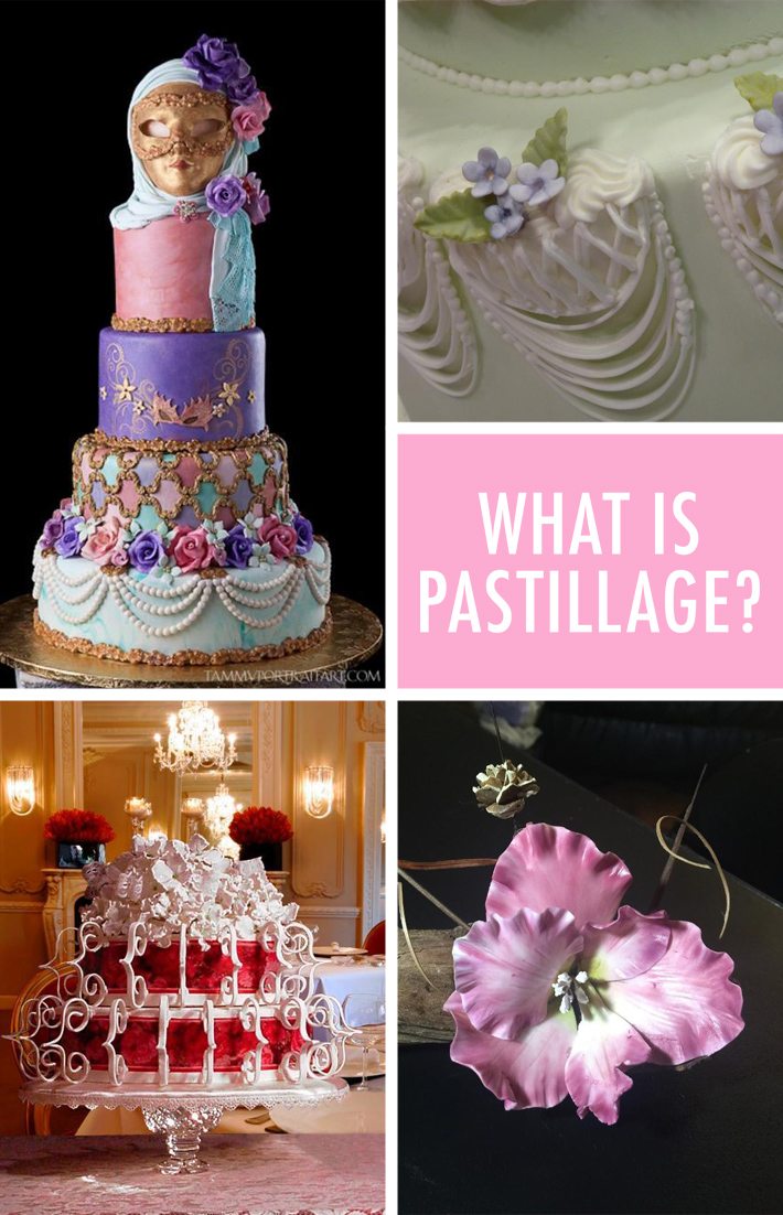 What is pastillage?
