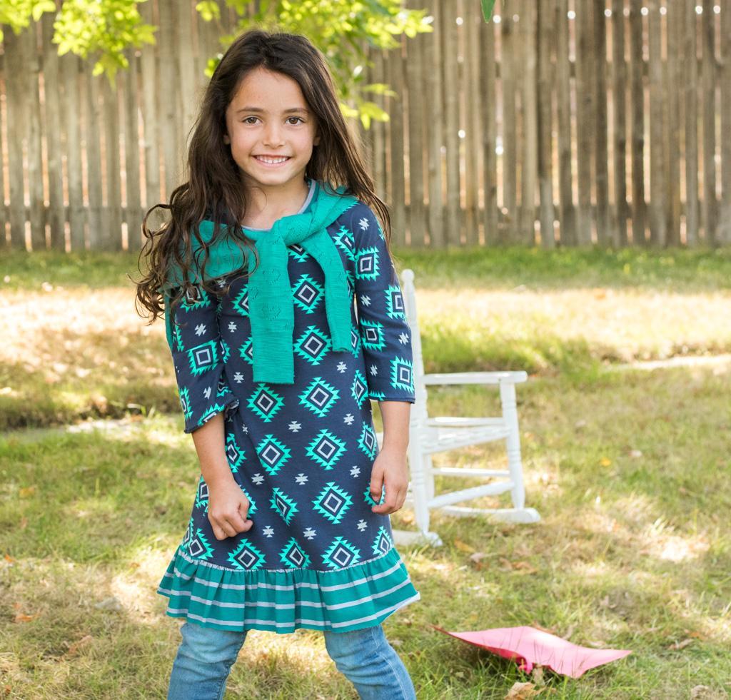 Mod Kid Penny Knit Dress Sewing Kit