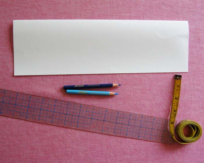 collect paper and ruler