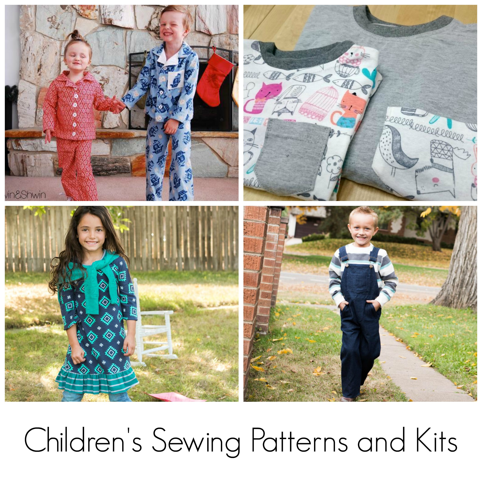 Children's Sewing Patterns and Kits