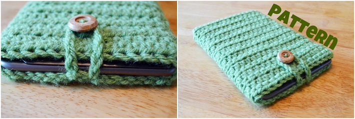 Crochet book cover ebook sleeve
