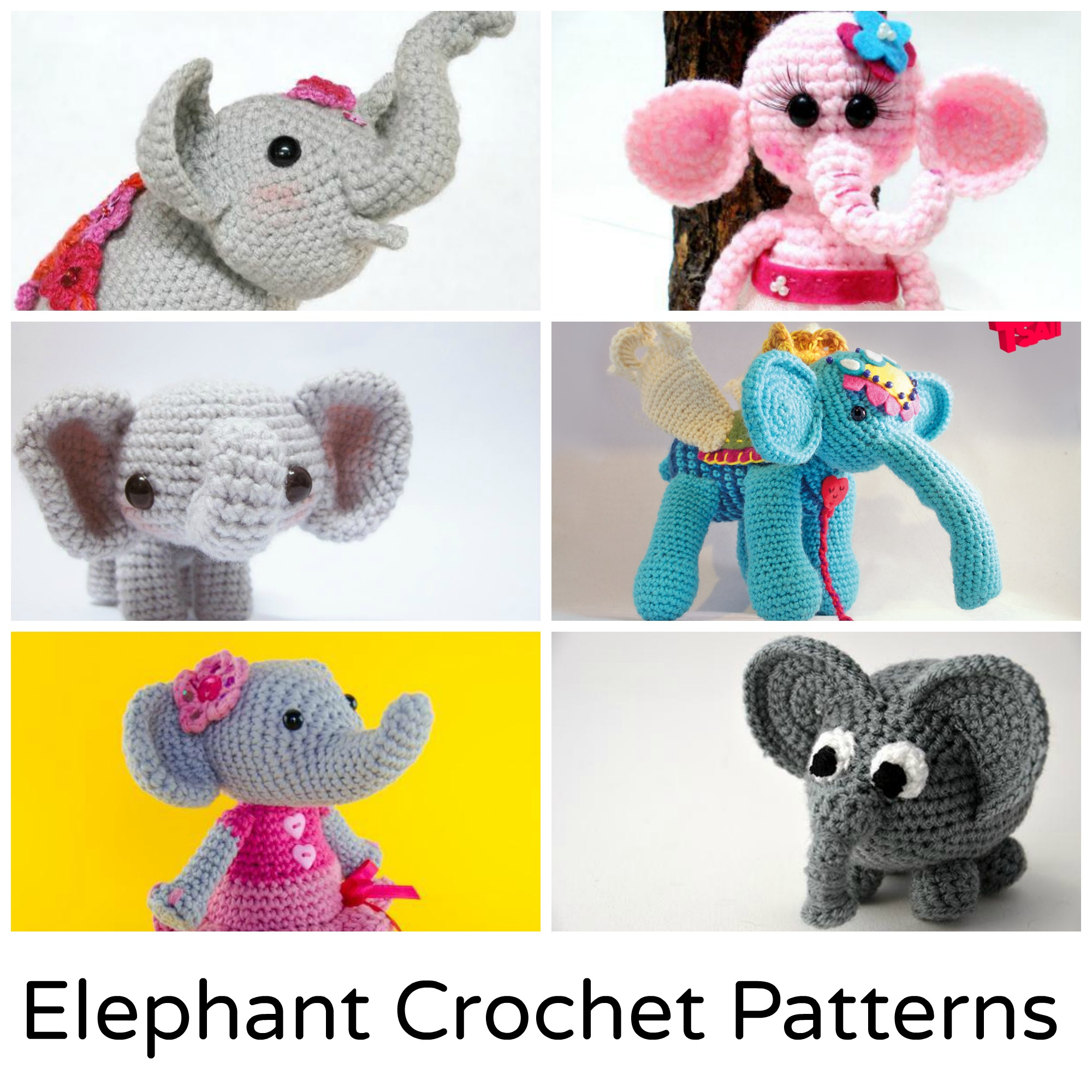 Elephant Crochet Patterns
