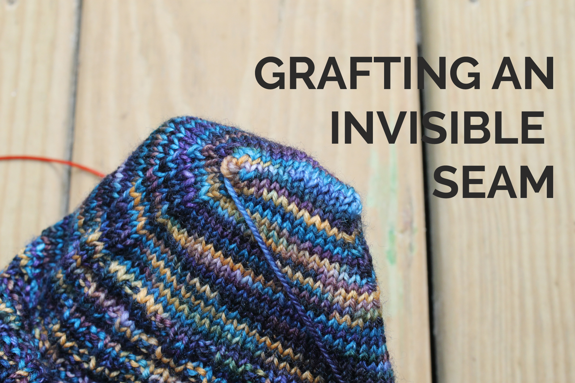 Grafting an Invisible Seam