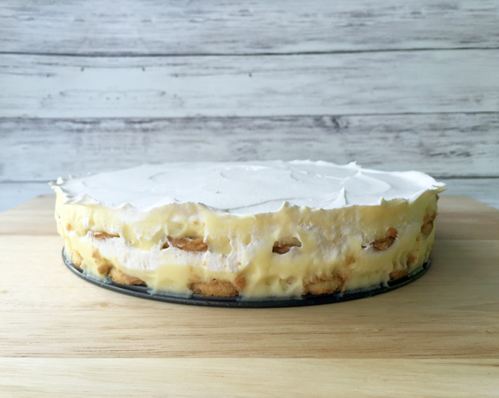 banana pudding icebox cake