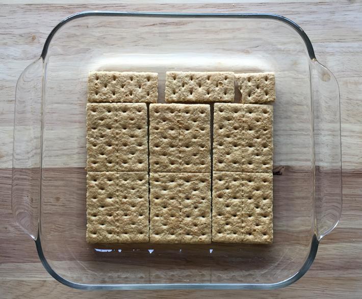 graham cracker base